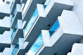 ビジネス建物の抽象のガラス面 — ストック写真