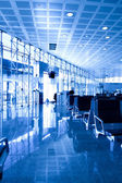 Čerstvý chodby letišti — Stock fotografie