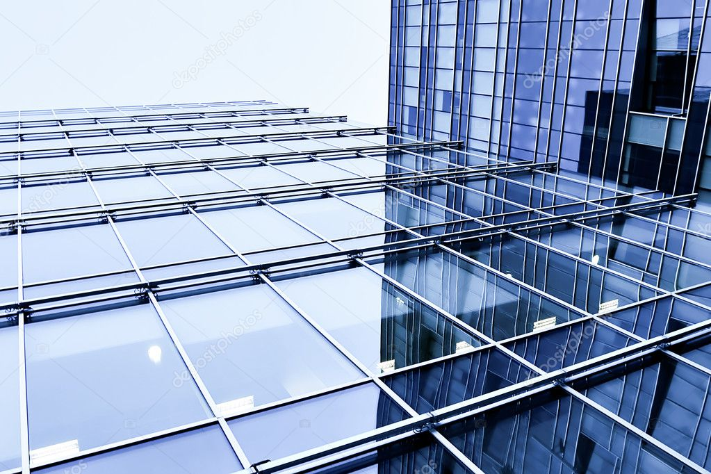 Modern glass business center — Stock Photo #5327562