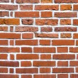 Closeup of brick wall — Stockfoto