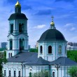 Famous Russian church — Stock Photo