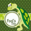 Vector illustration for fools day — Stock Vector #5239425
