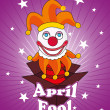 Vector illustration for fools day - 