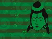 Wallpaper for ramnavami — Stock Vector