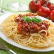 Spaghetti bolognese — Stock Photo #4068164