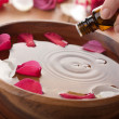 Essential oil for aromatherapy — Stock Photo