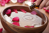 Essential oil for aromatherapy — Stockfoto