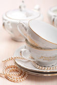 Tazas de té elegante — Foto de Stock