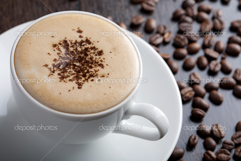 Cup of coffee — Stock Photo #4278124