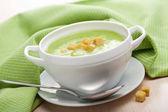 Krémová zeleninová polévka — Stock fotografie