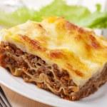 Lasagna bolognese — Stock Photo #4832052