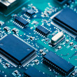 Stock Photo: electronic board