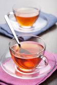 Cups of tea — Stock Photo