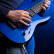 Stock Photo: Rock guitarist