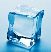 Macro of ice cube — Stock Photo