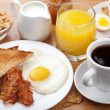 Traditional breakfast - Stock Photo