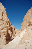White canyon in Egypt. — Stock Photo