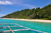 Beautiful tropical scenery of Boracay — Стоковое фото