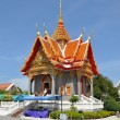 Traditional architecture of temples of Thailand — Stock Photo #4736684