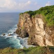 Rocky coast near Uluwatu temple on Bali — Stock Photo