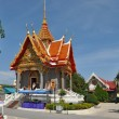 Traditional architecture of temples of Thailand — Zdjęcie stockowe #4826487