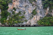 Tropical islands and lagoons near to Phuket — Stock Photo
