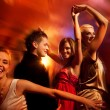 Dancing in the night club — Stockfoto