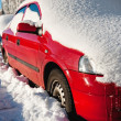 Snow covered cars — Stock Photo #5310728