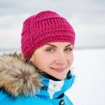 Beautiful woman enjoying winter day — Stock Photo #5310806