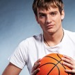 Young basketball player — Stock Photo #5310868