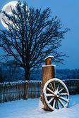 Krásné zimní malebné — Stock fotografie