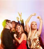 Dançando na boate — Fotografia Stock