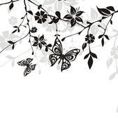 Flowers illustration — Stock Vector