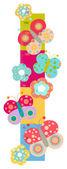 Graphique de la hauteur pour les enfants — Photo