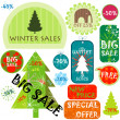 Winter sales — Stock Photo