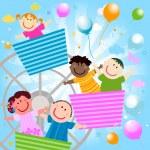 Happy kids — Stock Photo #4503279