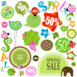 Stock Photo: Spring sale