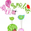 Spring sale — Stock Vector #4966752