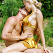 Kiss on the beach - 