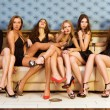 Group of models — Stock Photo