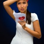 Valentine's postcard — Stock Photo