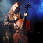 Cello musician, Mystical music — Stock Photo #4053770