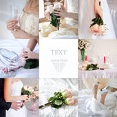 Collage de mariage — Photo