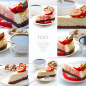 Cheesecake — Stock Photo