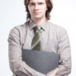 Confident business man portrait — Stock Photo