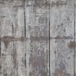 Old painted wooden surface. — Stock Photo