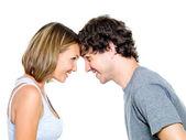 Twee jonge daten — Stockfoto