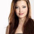 Pretty young girl with long straight hair — Stock Photo #5087229