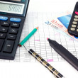 Royalty-Free Stock Photo: Financial calculation