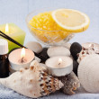 Stock Photo: Spa objects to relax
